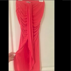 Charlotte Russe Pink Maxi Skirt